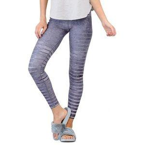 Niyama Sol granite stripe yoga leggings XS